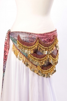 Belly dance funky lycra belt