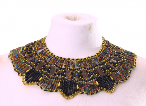 Belly dance pharonic necklace