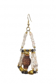 Belly dance pharonic earrings