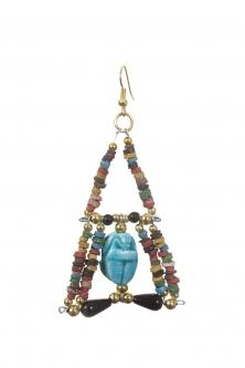 Belly dance pharonic earrings
