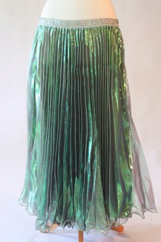 Belly dance pleated skirt - Mermaid Lagoon