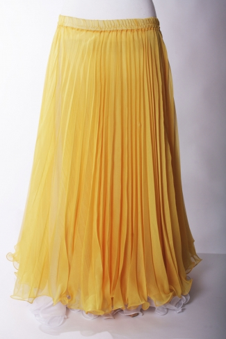 Belly dance pleated skirt - Miss Sunshine