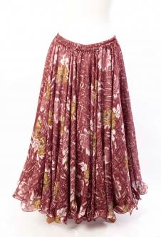 Belly dance printed skirt