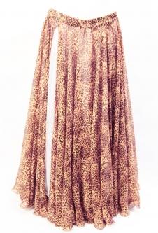Belly dance fine silk chiffon skirt - Catalicious