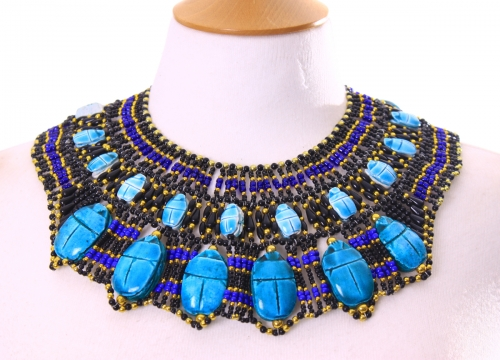 Belly dance rich pharonic necklace