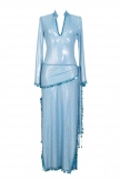 Belly dance sa'idi dress/galabia - Holographic Baby