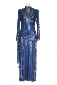 Belly dance sa'idi dress/galabia - Arabian Nights