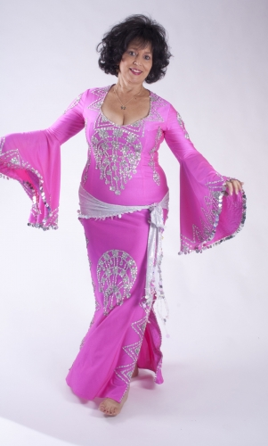 Belly dance special sa'idi dress/galabia