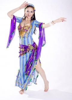 Belly dance special sa'idi dress/galabia - High Class