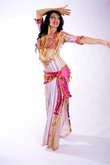 Belly dance special sa'idi dress/galabia - Sugar Rush