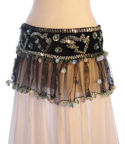Belly dance tutu belt - styles may vary