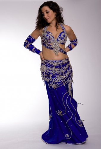 Belly dance costume - Galaxy Cocktail