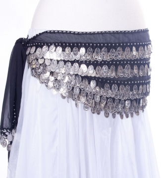 Budget belly dance belt - colours may vary