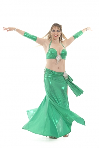 Couture belly dance costume - Amazing Grace