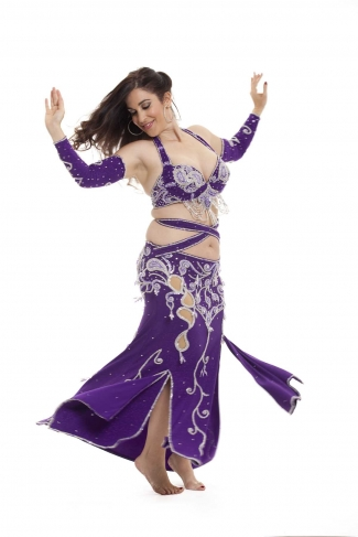 Couture belly dance costume - Shining Beauty