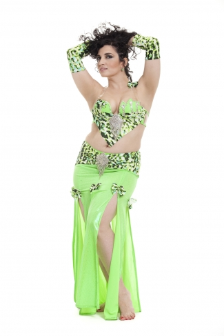 Couture belly dance costume - Maybe Baby