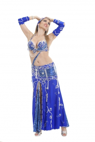 Couture belly dance costume - Titanic True Love
