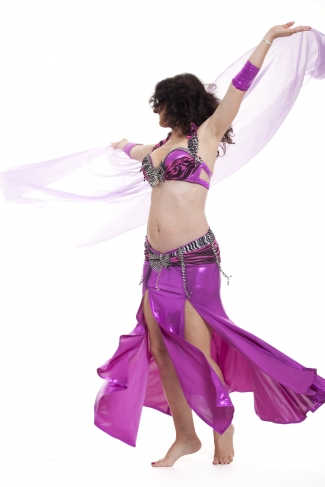 Couture belly dance costume - Hot Sugar