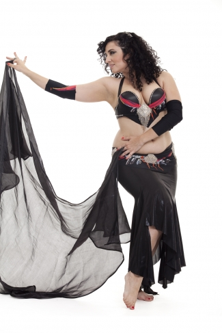 Couture belly dance costume - Deep Dreaming...