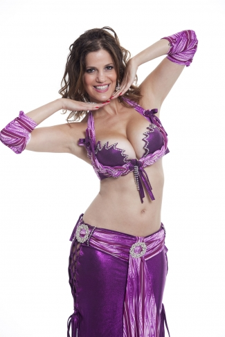 Couture belly dance costume - Desired