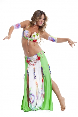Couture belly dance costume - Amazon Belly Dancer