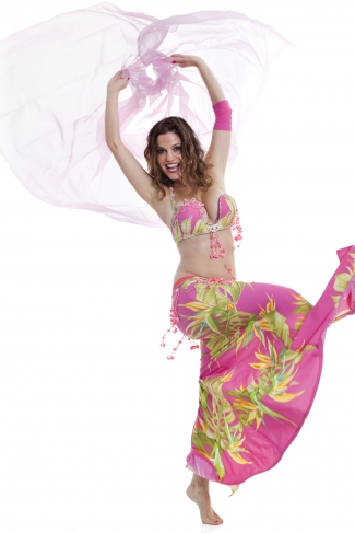 Couture belly dance costume - Fashion of His Love