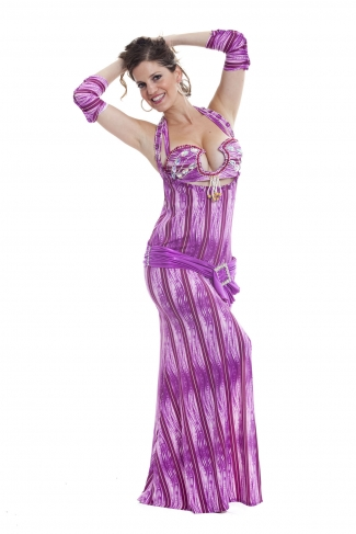 Couture belly dance costume - Million Dollar Darling!