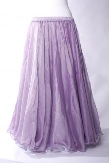Deluxe chiffon circular skirt