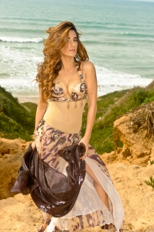 Eman for Brighton Orient Belly dance couture costume - Fierce