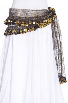 Funky lace belly dance belt