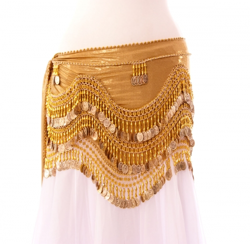 Funky lycra belly dance belt