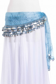 Funky mesh belly dance belt