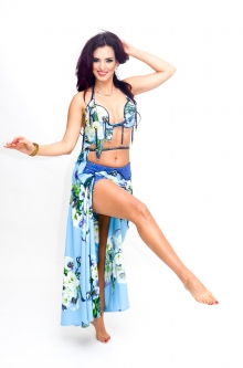 Hallah for Brighton Orient Belly dance couture costume - Lovely