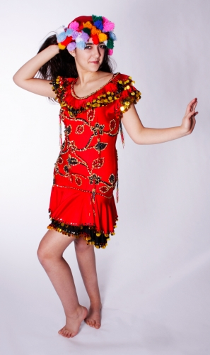 Maleya dress for belly dance