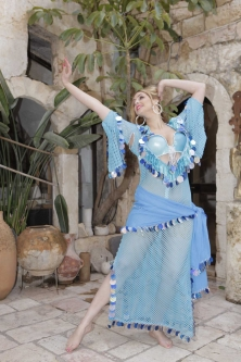 Special sa'idi dress/galabia - Sea Sweetheart