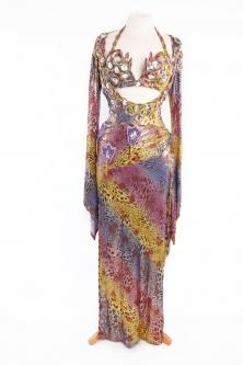 Special sa'idi dress/galabia - Funky Leopard