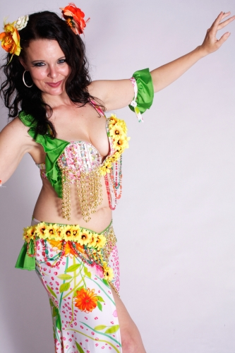 WOW! Belly dance costume - Sexy Miss Sunshine