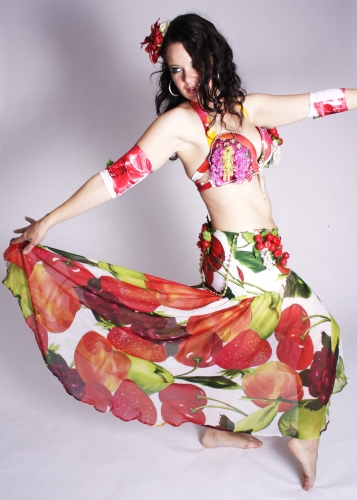 WOW! Belly dance costume - Tutti Frutti