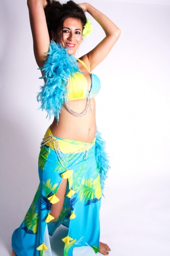 WOW! Belly dance costume - Brazilian Blitz