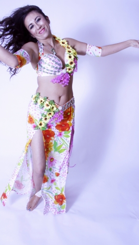 WOW! Belly dance costume - Sunburst