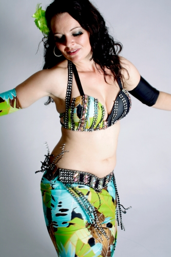 WOW! Belly dance costume - Tropical Temptress