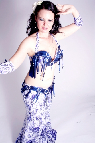 WOW! Belly dance costume - Diamond Delight