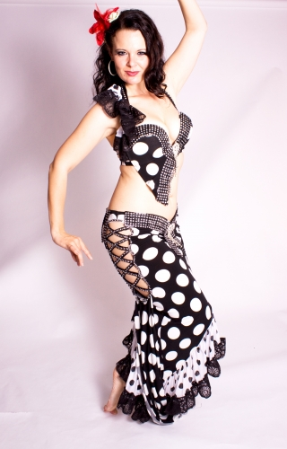 WOW! Belly dance costume - Polka Princess