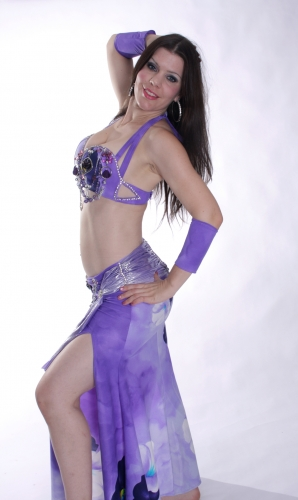 WOW! Belly dance costume - Spellbound