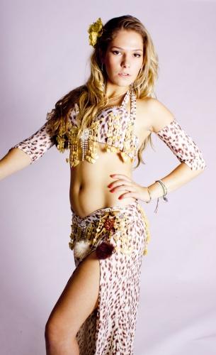 WOW! Belly dance costume - Leopard Love