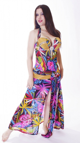 WOW! Belly dance cabaret dress - Funky Jungle