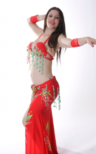 Wow! Belly dance costume - Vegas Queen